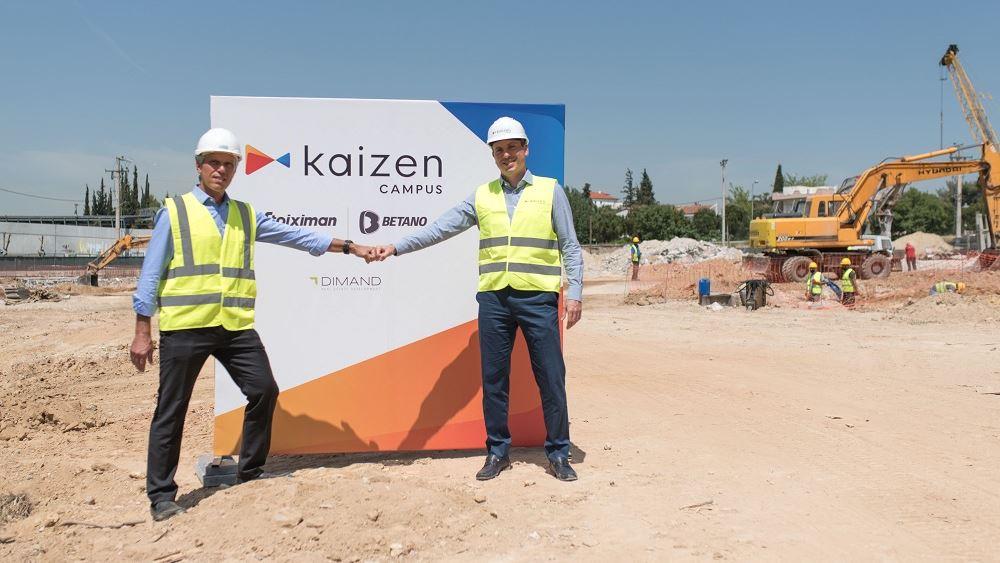 Δασκαλάκης, CEO Kaizen Gaming και Ανδριόπουλος CEO Dimand