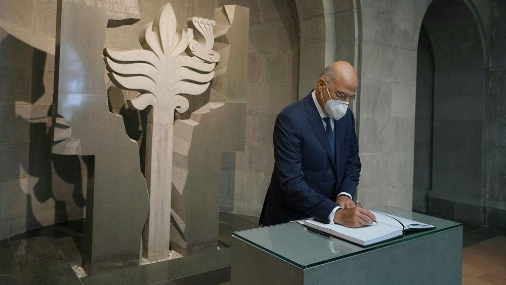 Στην Αρμενία ο Ν. Δένδιας - Συνάντηση με τον ομόλογό του