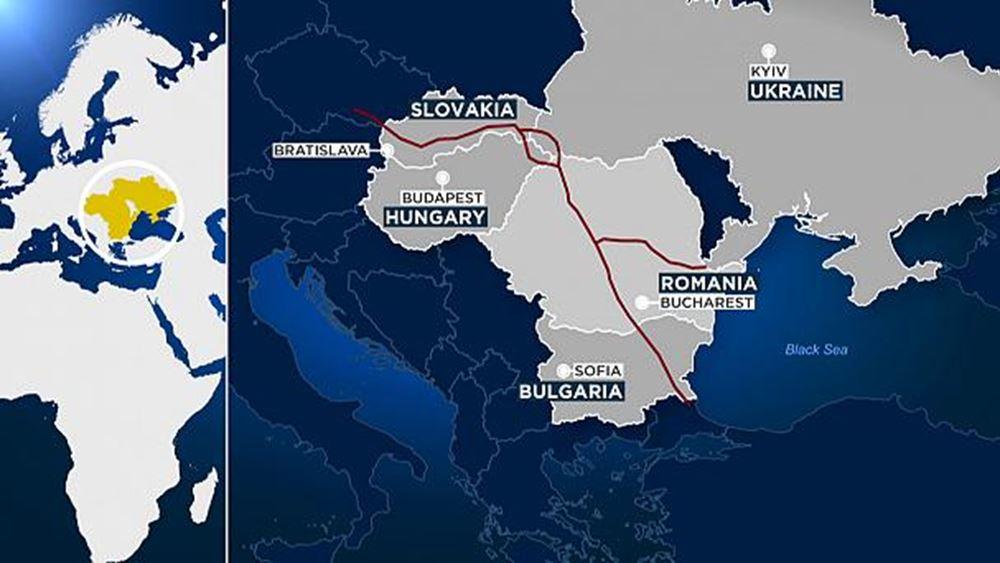 Ρουμανία: Έπεσαν οι υπογραφές για τον αγωγό αερίου BRUA