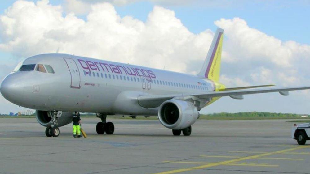 Germanwings: 180 πτήσεις ακυρώθηκαν λόγω απεργίας
