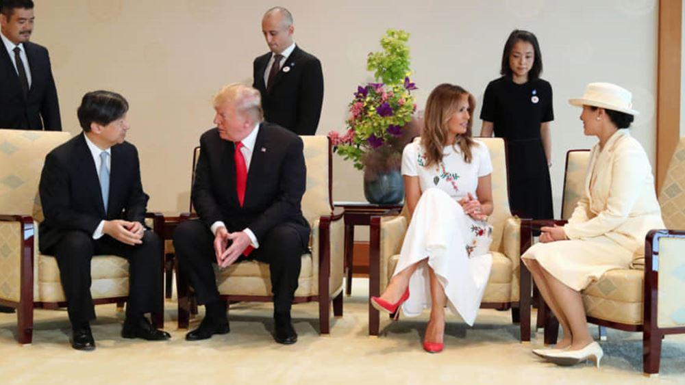 Ιαπωνία: Ο Τραμπ αναχώρησε για την Ουάσινγκτον μετά το πέρας της τετραήμερης επίσημης επίσκεψής του