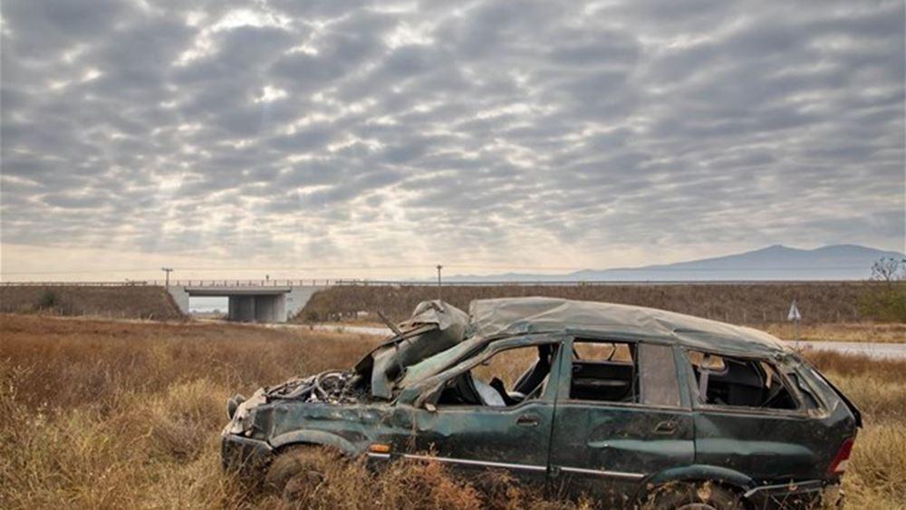Θεσσαλονίκη: Ένας νεκρός σε τροχαίο οχήματος που μετέφερε παράτυπους μετανάστες