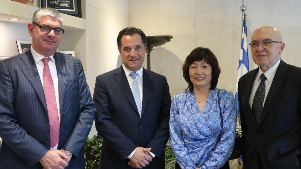 Συνάντηση Αδ. Γεωργιάδη με την Πρέσβη της Κίνας - στο επίκεντρο οι πιθανότητες συνεργασίας μεταξύ των δυο χωρών