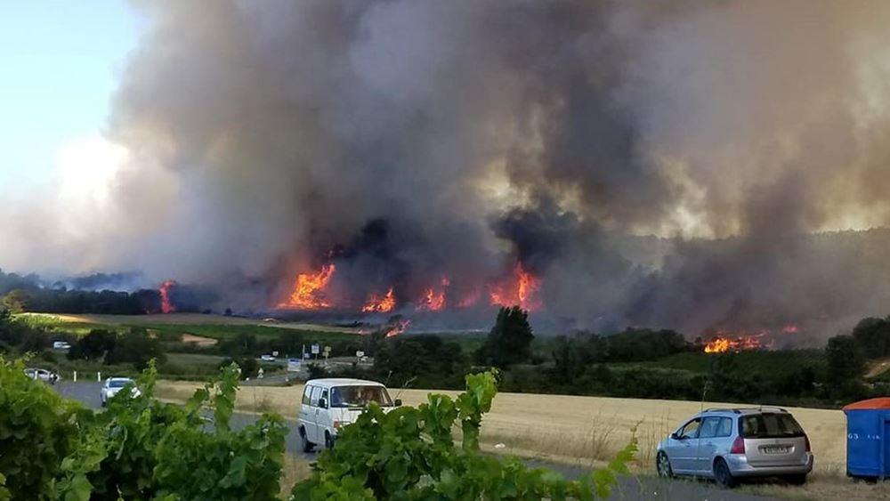 Γαλλία: Προφυλακίστηκε ο φερόμενος ως δράστης 12 πυρκαγιών