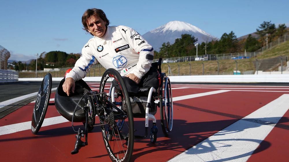 Ο Alessandro Zanardi μας δίνει δύναμη