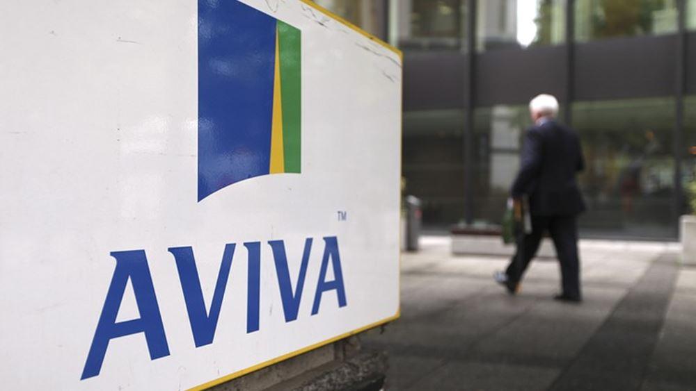Αυξήθηκαν 1% τα λειτουργικά κέρδη της Aviva