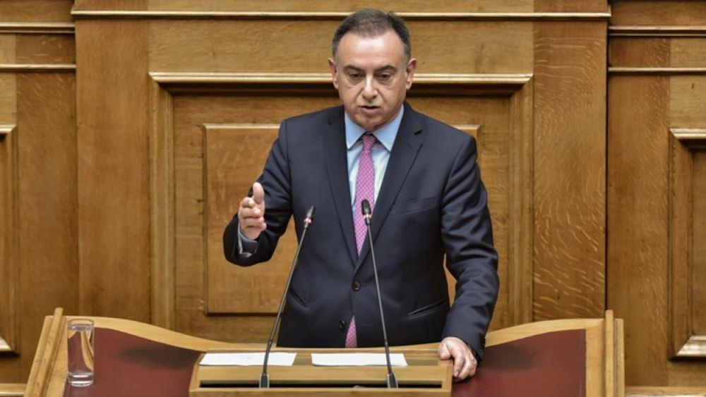 Θετικός στον κορονοϊό ο βουλευτής Λάρισας της ΝΔ Χρ. Κέλλας
