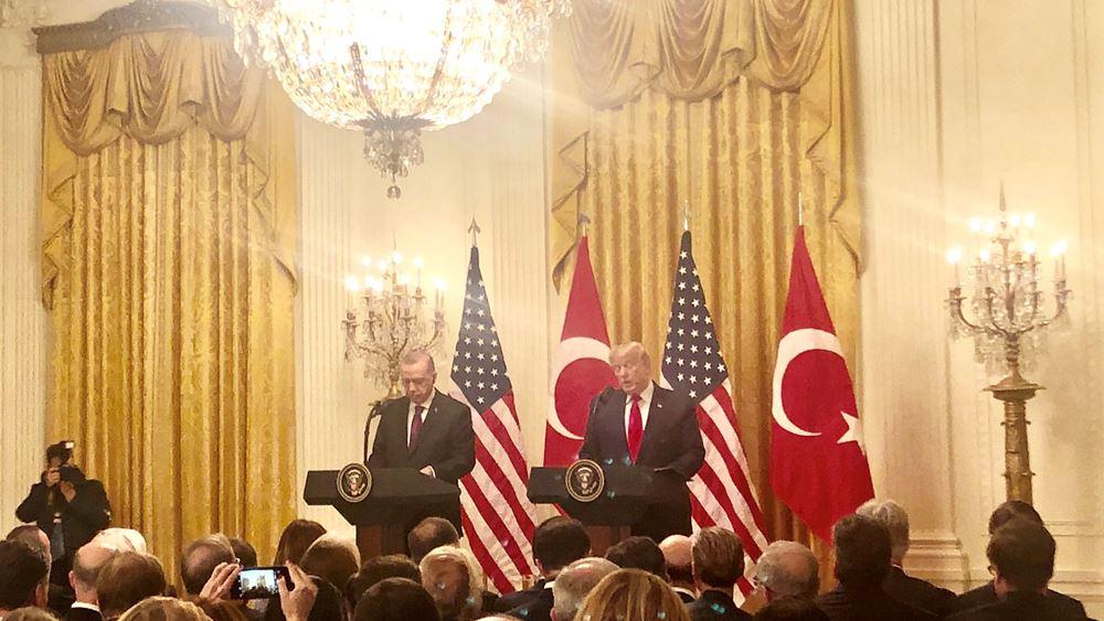 """Νίκη Ερντογάν με """"πλάτες"""" Τραμπ: Το προπαγανδιστικό βιντεάκι και η δημοσιογράφος της Sabah"""