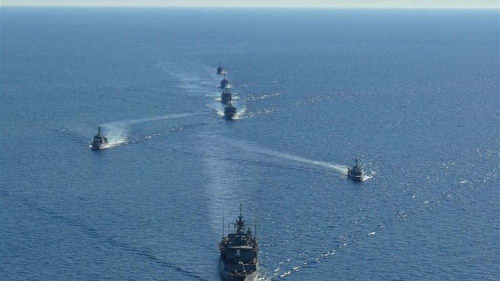 Σε εξέλιξη πρόγραμμα επιχειρησιακής εκπαίδευσης του Πολεμικού Ναυτικού