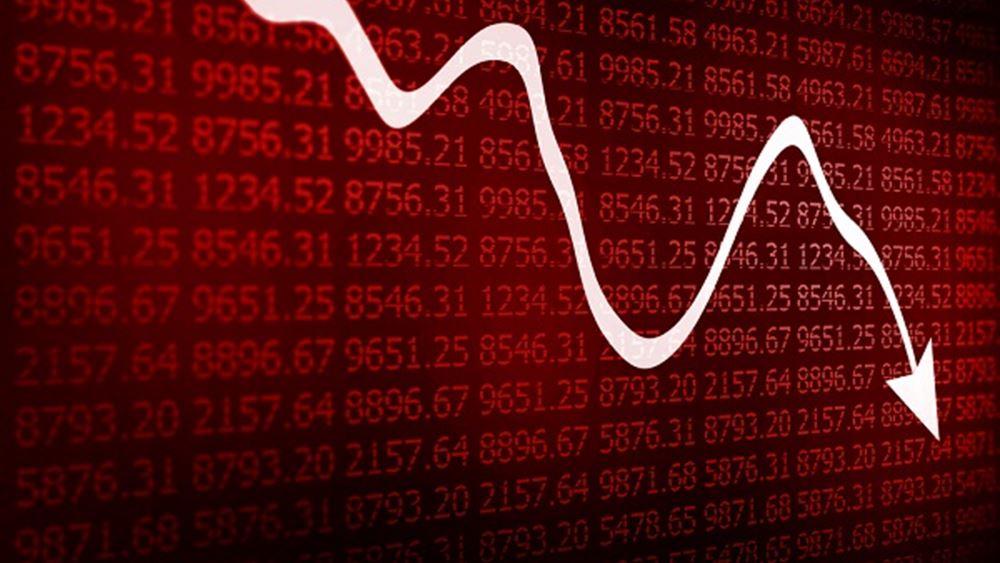 Βουτιά 2% στο Χρηματιστήριο και 5% στις τράπεζες