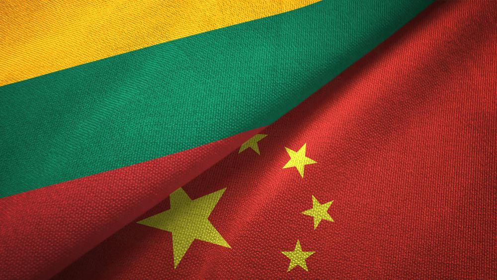 Έκκληση του υπ. Άμυνας Λιθουανίας: Δημόσιο και πολίτες να μη χρησιμοποιούν κινεζικά τηλέφωνα