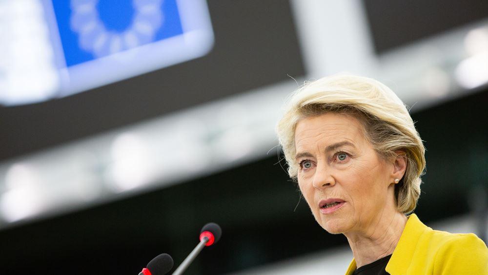 """Βέλγιο: """"Η Ευρώπη είναι μαζί σας"""" τόνισε η φον ντερ Λάιεν κατά την επίσκεψή της στις πληγείσες περιοχές της Βαλλονίας"""