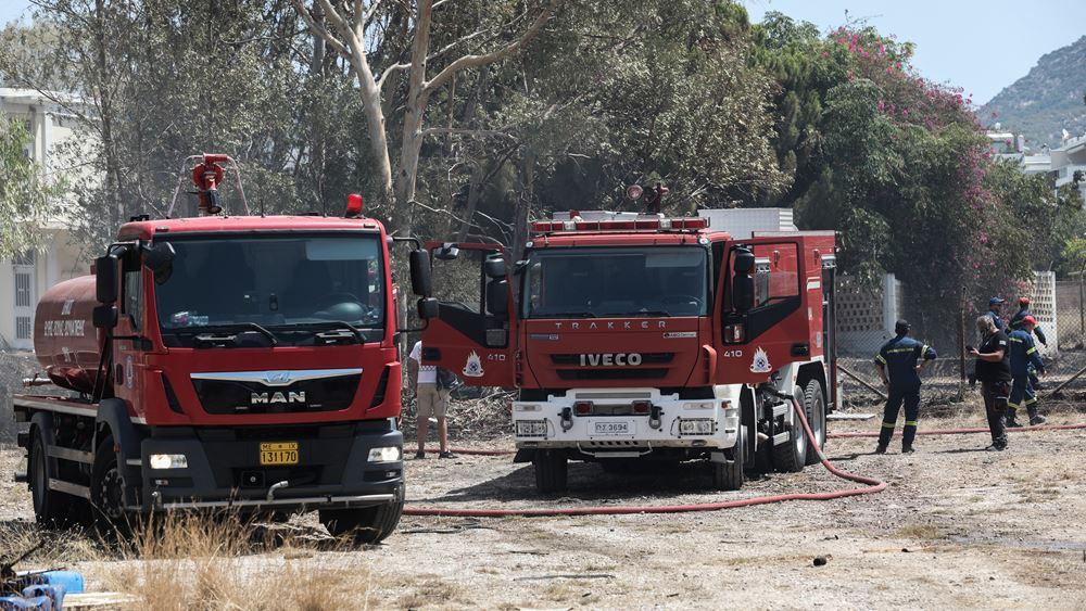 ΓΓΠΠ: Πολύ υψηλός κίνδυνος πυρκαγιάς αύριο για 4 Περιφέρειες της χώρας