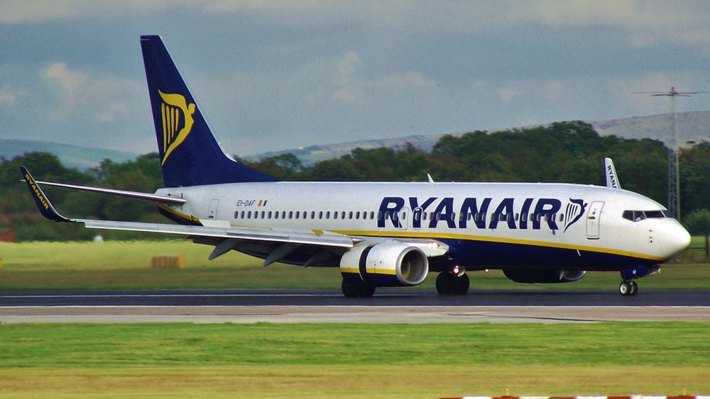 Ryanair: Ανοίγει τρεις νέες βάσεις στην Ελλάδα για το καλοκαίρι