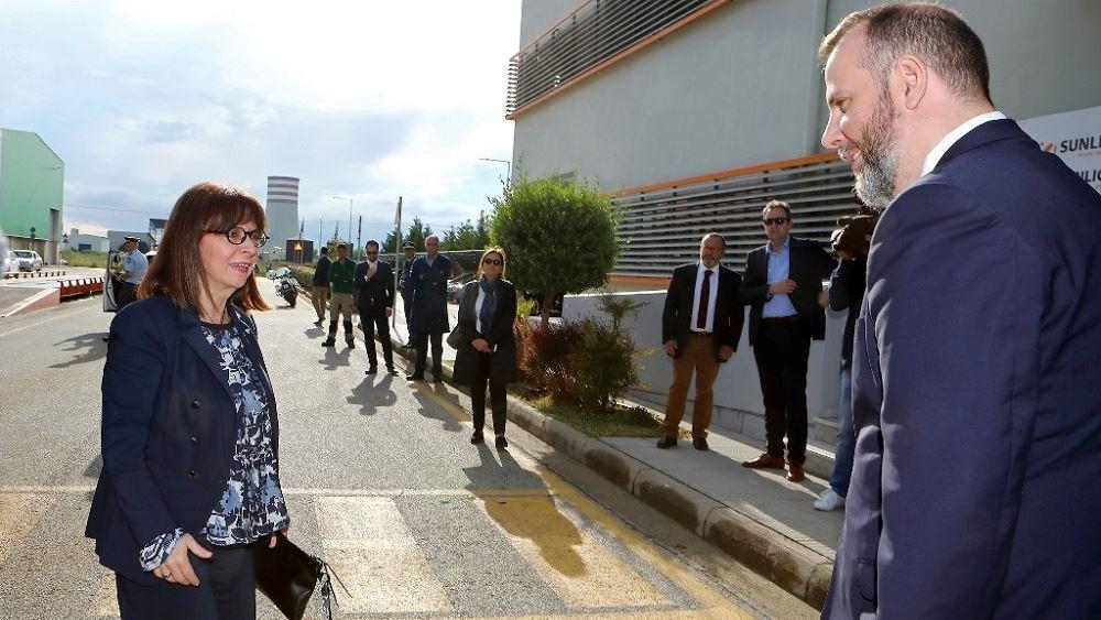 Επίσκεψη της ΠτΔ στη μονάδα ανακύκλωσης μπαταριών της SUNLIGHT στην Κομοτηνή