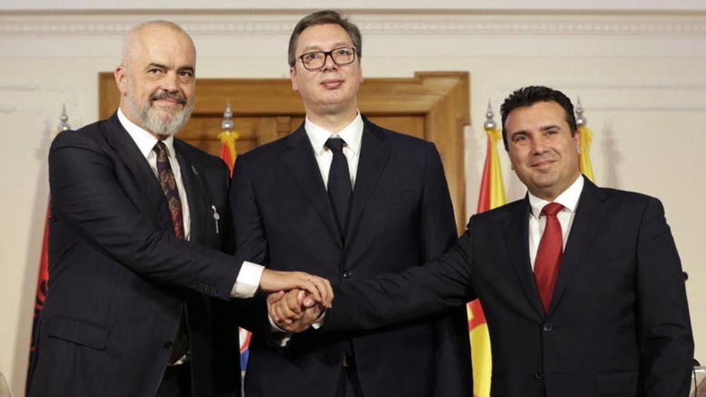"""Συνάντηση Βούτσιτς με Ράμα και Ζάεφ για """"μικρή Σένγκεν"""" στα Βαλκάνια"""