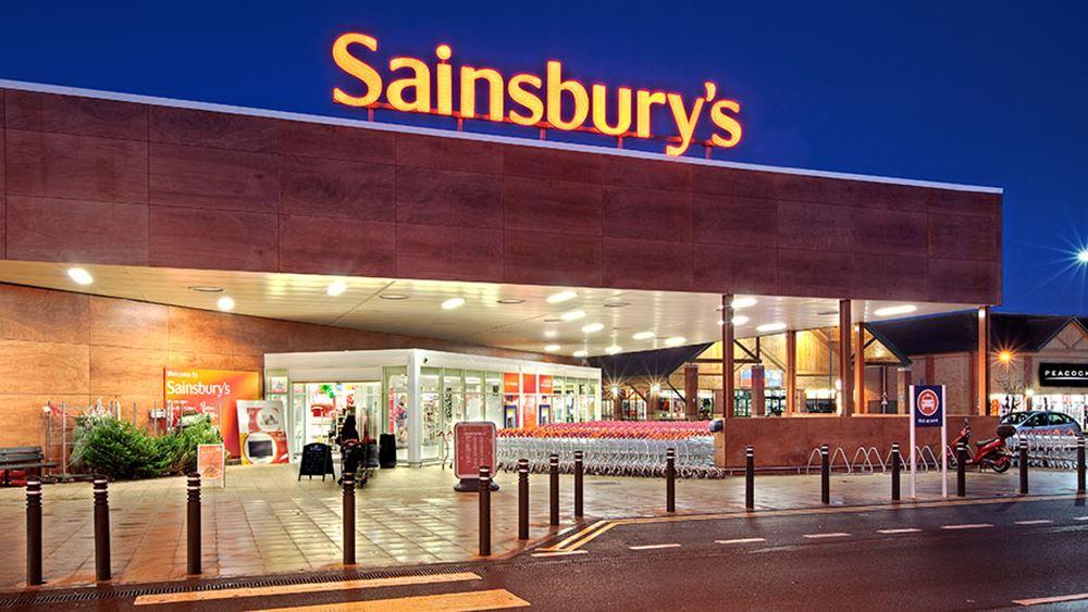 Ζημιές για τη Sainsbury στη διάρκεια της χρήσης εξαιτίας της πανδημίας