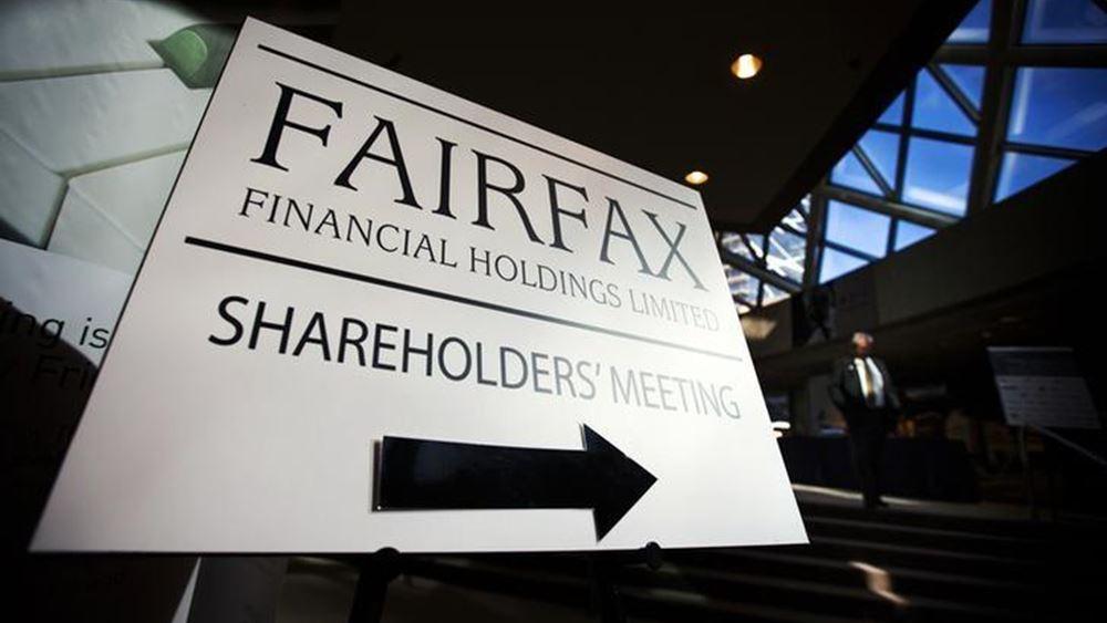 Απόκτηση μετοχών Eurobank απόθυγατρική εταιρεία της Fairfax