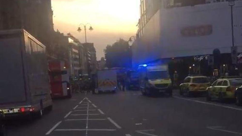 Συναγερμός στο Λονδίνο για διαρροή χημικής ουσίας