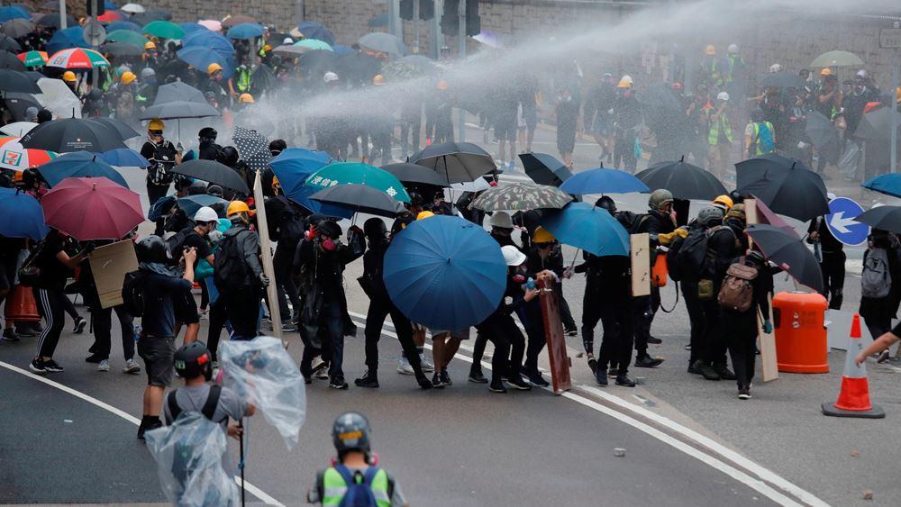 """Χονγκ Κονγκ: Συνεχίζονται οι κινητοποιήσεις - """"Το τέλος είναι κοντά"""", προειδοποιεί με άρθρο του το πρακτορείο Xinhua"""