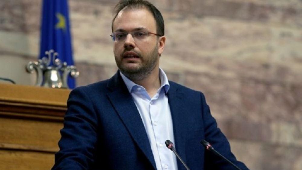 Θεοχαρόπουλος: Σε πολύ καλό κλίμα η συνάντηση με Ζάεφ
