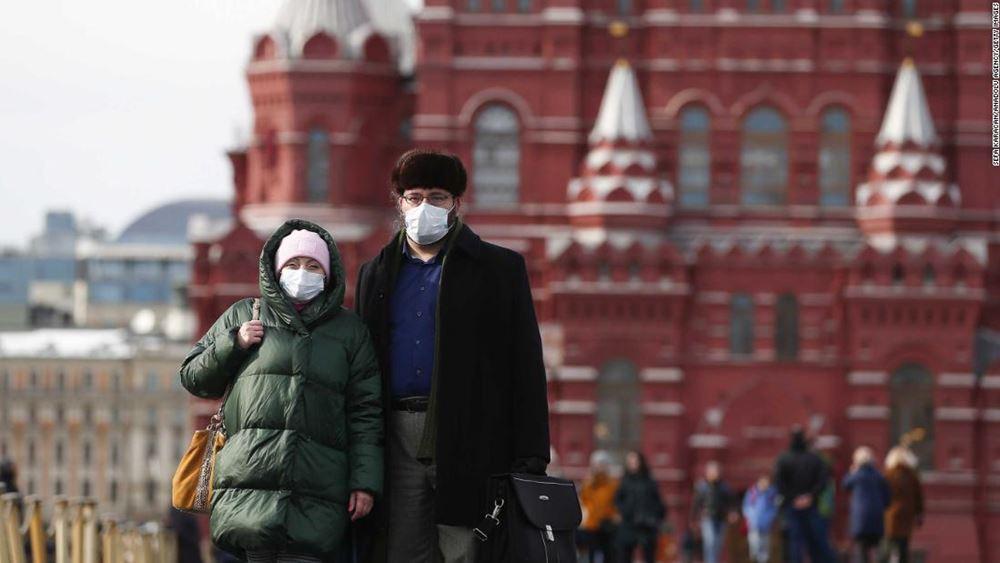 Ο αριθμός των κρουσμάτων στη Ρωσία είναι ο μικρότερος τις τελευταίες έξι εβδομάδες