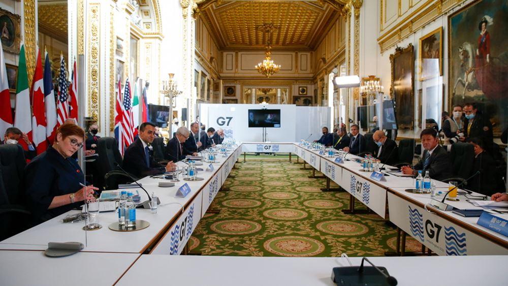 """Η G7 ενισχύει τις προσπάθειες για την αντιμετώπιση της """"απειλητικής"""" Ρωσίας"""