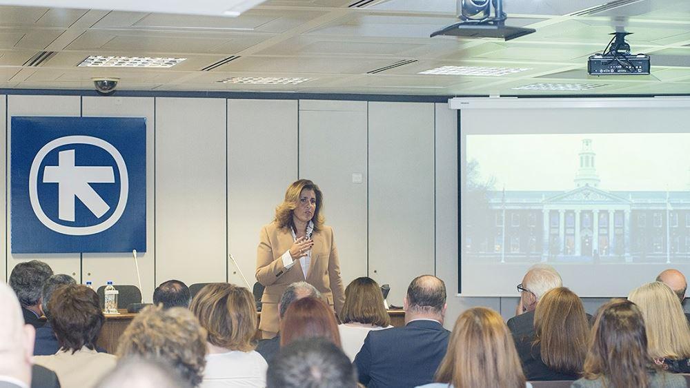 Η Ρεβέκκα Πιτσίκα κεντρική ομιλήτρια σε εκδήλωση της Alpha Bank για τον ρόλο της Ηγεσίας