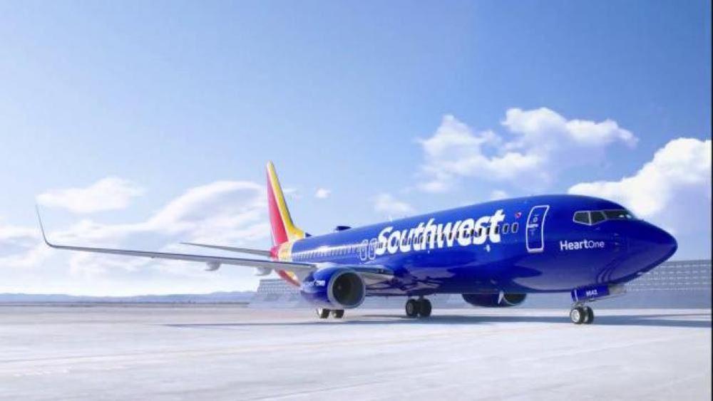 Αυξήθηκαν 30% τα κέρδη της Southwest Airlines