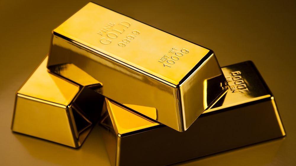 Κέρδη ο χρυσός με ώθηση από τα στοιχεία για τον πληθωρισμό