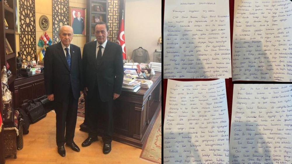 Τούρκος αρχιμαφιόζος απειλεί με σωματική βία τον Κιλιτσντάρογλου - Αποφυλακίστηκε με ειδικό νόμο του Ερντογάν