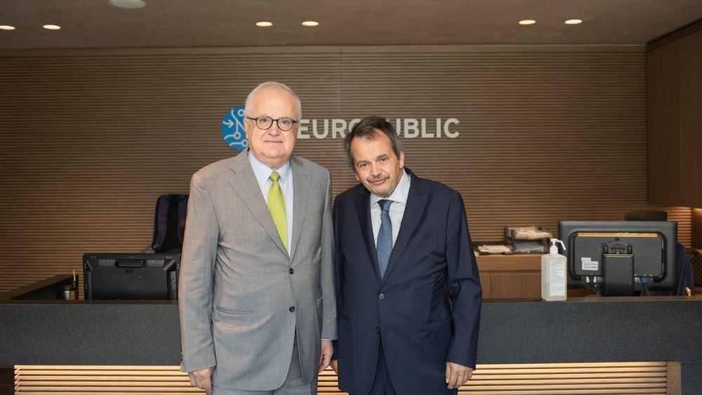 Επίσκεψη του προέδρου της Τράπεζας Πειραιώς στη NEUROPUBLIC