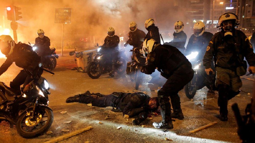 Τραυματίας αστυνομικός Νέα Σμύρνη 09.03.2021