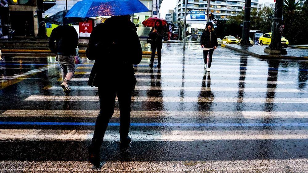 Ισχυρές βροχές και καταιγίδες αναμένονται έως το Σάββατο