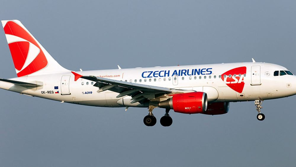 Τσεχία: Οι Τσεχικές Αερογραμμές θα επαναλάβουν κάποιες πτήσεις μέσα στον Μάιο