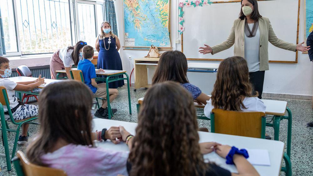 Κεραμέως: Η σχολική χρονιά ξεκινά με τις καλύτερες δυνατές προϋποθέσεις