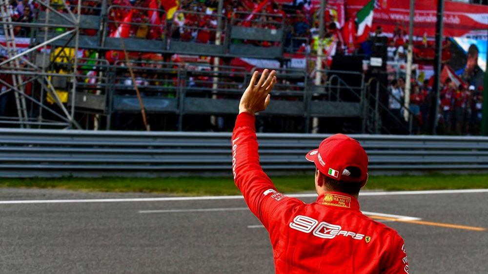 F1: Στην Pole position ο Charles Leclerc (vid.)
