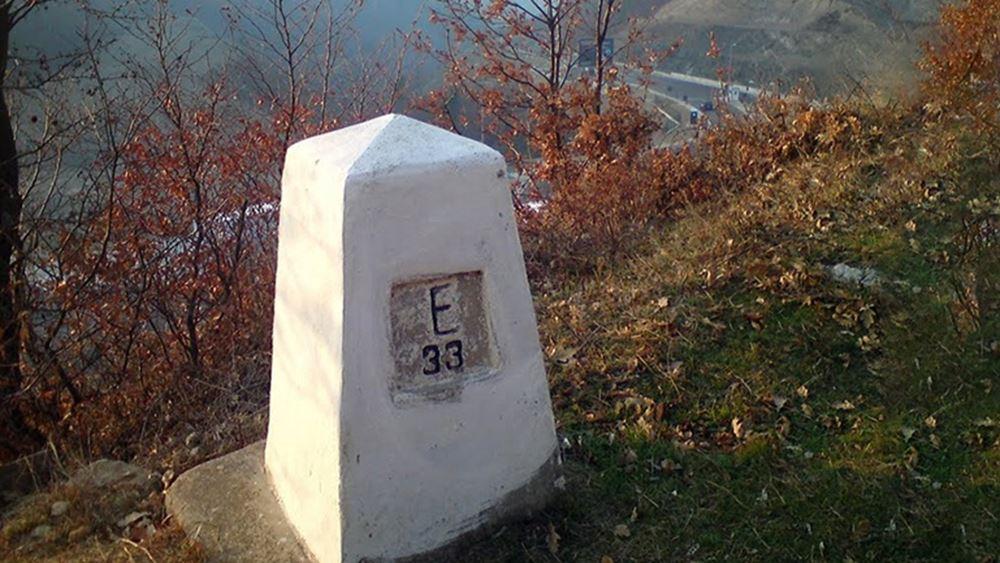 Συνελήφθη 36χρονος για τις φθορές στις πυραμίδες της οριογραμμής Ελλάδας-ΠΓΔΜ