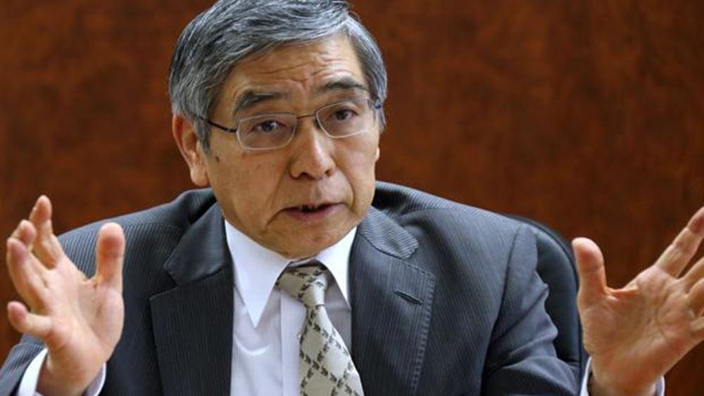 Kuroda (BoJ): Η μείωση των επιτοκίων βαθύτερα σε αρνητικό έδαφος είναι στις επιλογές μας