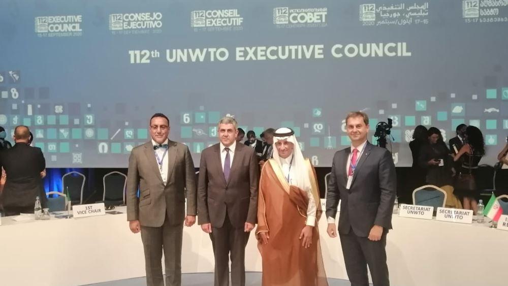Σειρά διμερών συναντήσεων είχε ο Υπουργός Τουρισμού στη Σύνοδο του Εκτελεστικού Συμβουλίου του Παγκόσμιου Οργανισμού Τουρισμού