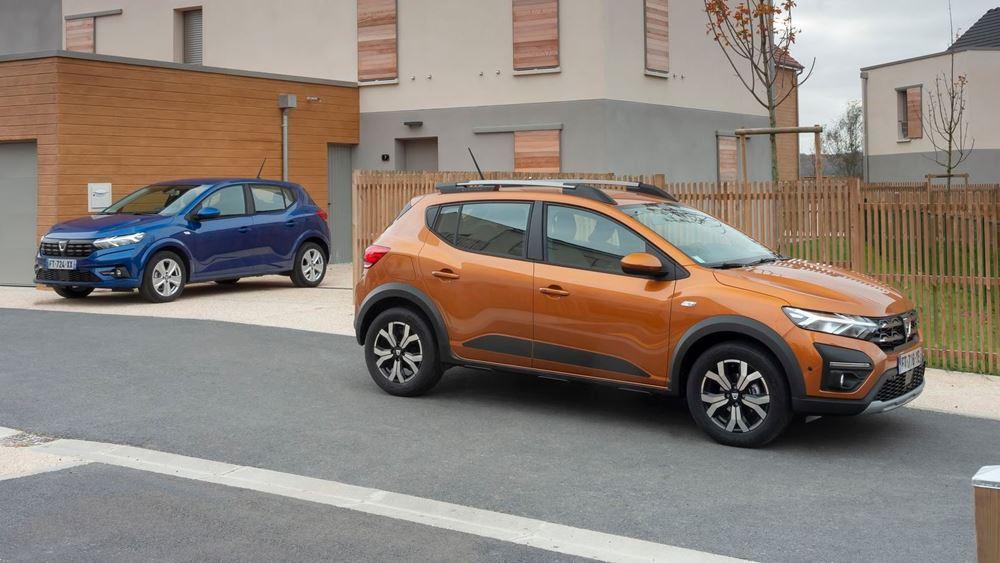 Τα νέα Dacia Sandero Streetway και Stepway στην Ελλάδα