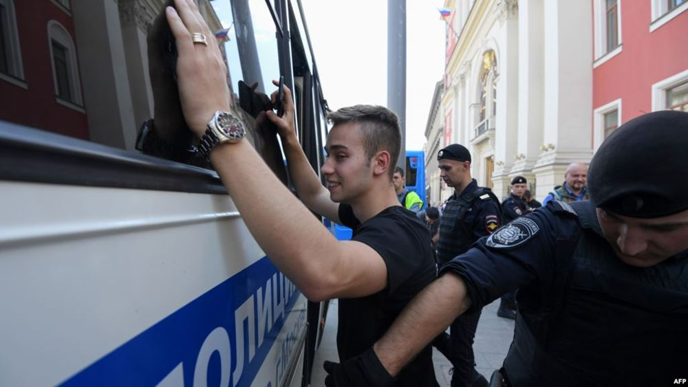 Ρωσία: 61 άτομα έχουν τεθεί υπό κράτηση μετά τις διαδηλώσεις της 27ης Ιουλίου στην Μόσχα