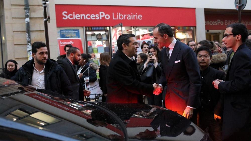Συνάντηση Τσίπρα με τη δήμαρχο του Παρισιού, Αν Ινταλγκό