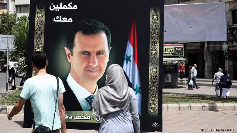 Κολλημένος στην προεδρική καρέκλα ο Άσαντ