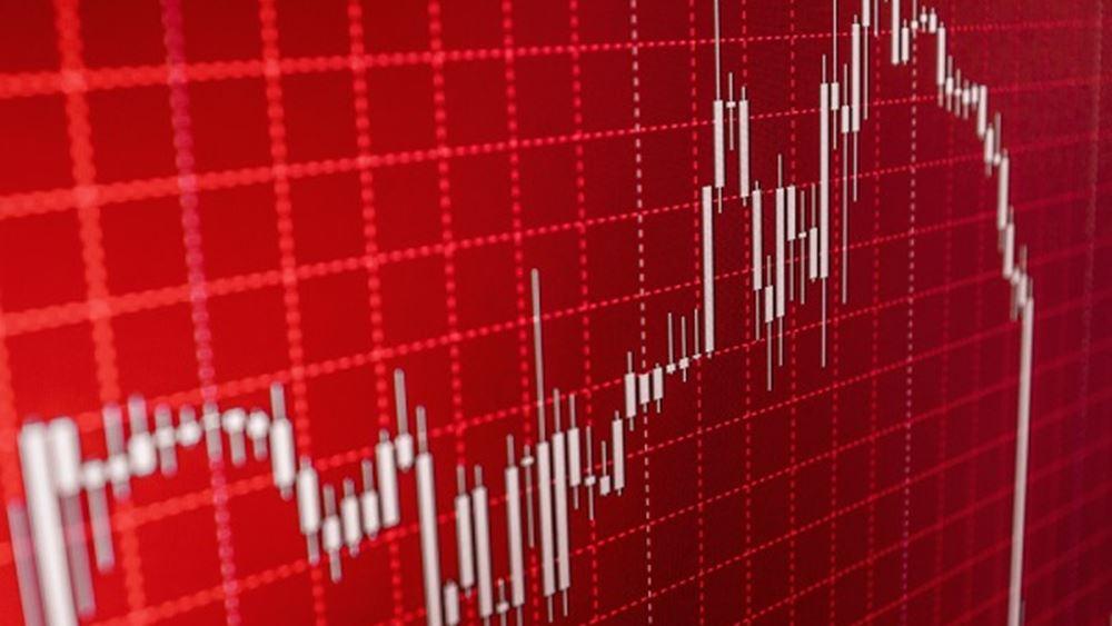 """""""Στο κόκκινο"""" οι ευρωαγορές"""