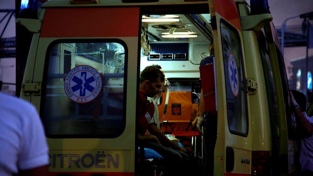 Θεσσαλονίκη: Κατέληξε ο αλλοδαπός τραυματίας στο πρωινό τροχαίο στο Δερβένι