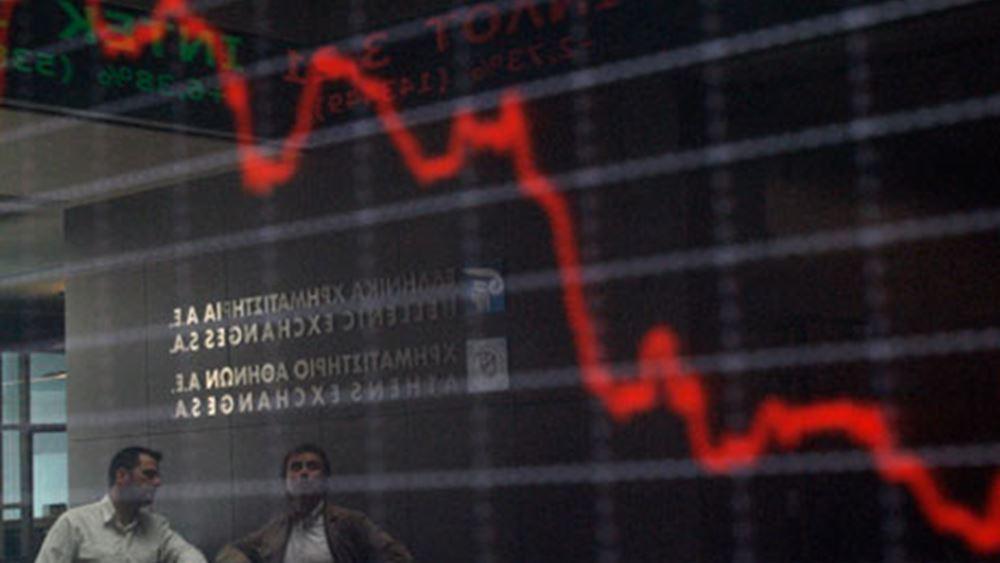 """""""Μίλησαν"""" στο τέλος οι πωλητές - Απώλειες στο Χρηματιστήριο"""