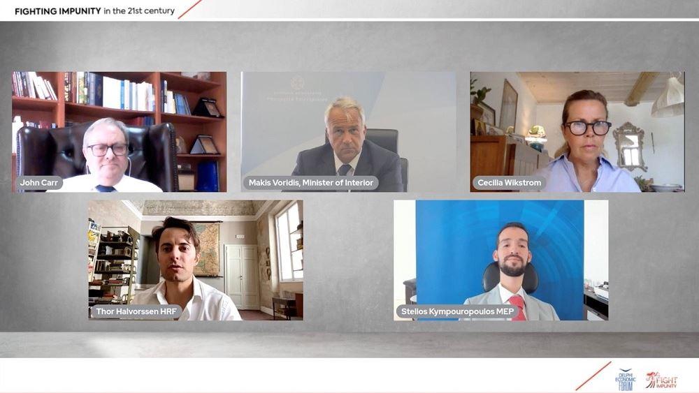 Μ. Βορίδης: «Ανάχωμα» στην καταπάτηση των ανθρωπίνων δικαιωμάτων η διαφάνεια και η ακεραιότητα