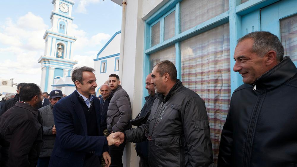 Κ. Μητσοτάκης απο την Κάσο: Ο διάλογος με την Τουρκία δε μπορεί να γίνει υπό συνθήκες εκβιασμών και προκλήσεων