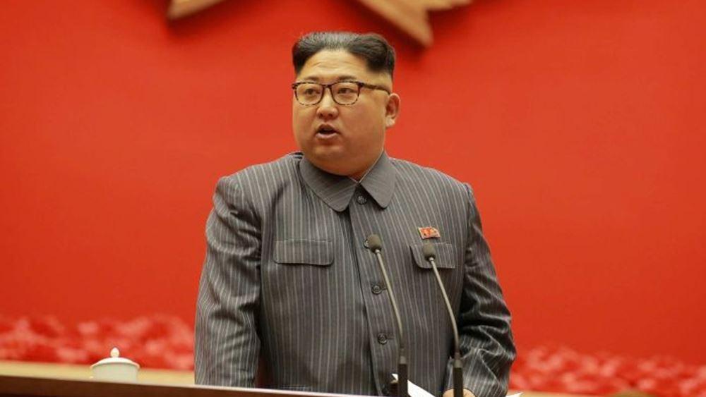 """Βόρεια Κορέα: Ο Κιμ Γιονγκ Ουν αποκαλεί τις ΗΠΑ τον """"μεγαλύτερο εχθρό"""""""